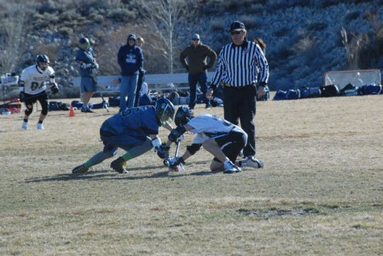 Galena takes on Damonte Ranch in lacrosse earlier this season.