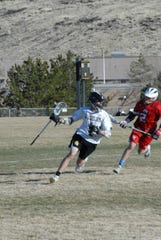 Galena takes on Truckee in lacrosse earlier this season.