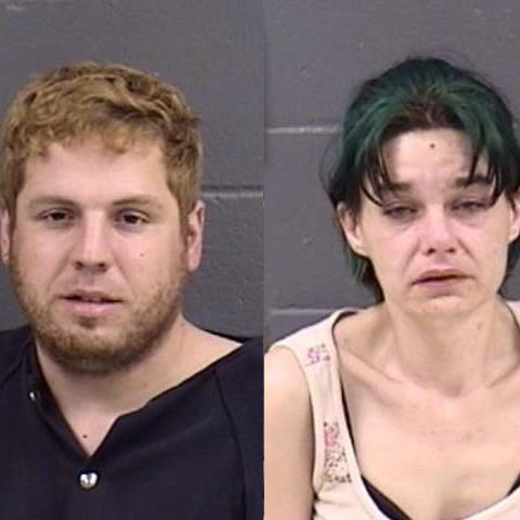 Two from Salem arrested after Cloverdale bank robbery