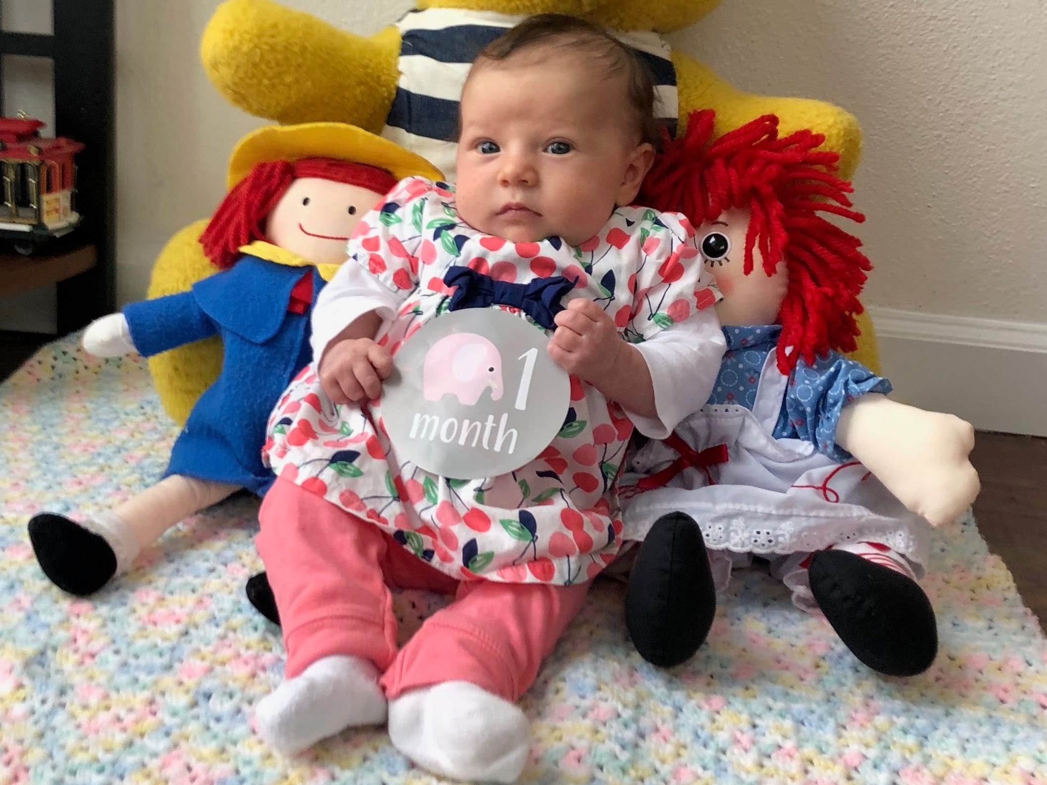 Ginger McCall's 7-week-old daughter, Evianna Quintero-McCall, died of meningitis on Sunday after being discharged from the Salem Hospital emergency room with a fever.