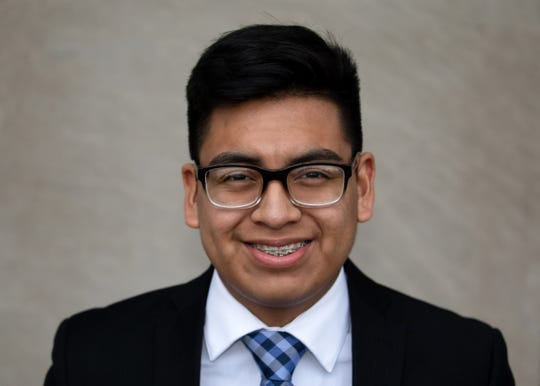 Raul Marquez Guerrero poses for a photo. He is running for Zone 2 on the Salem-Keizer School Board for the May 2019 election.