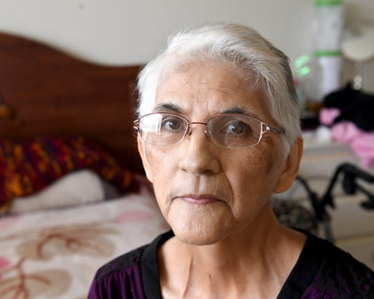 Gloria Torrez, photographed at her Salinas home in March 2019. She was diagnosed with stomach cancer and given just months to live.