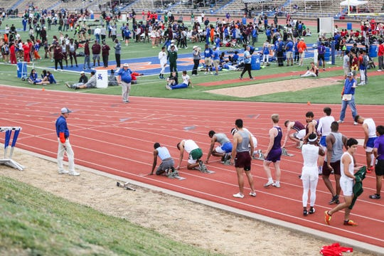 Athletes from all around Texas competed during the San Angelo Relays Friday, March 22, 2019, at the San Angelo Stadium.