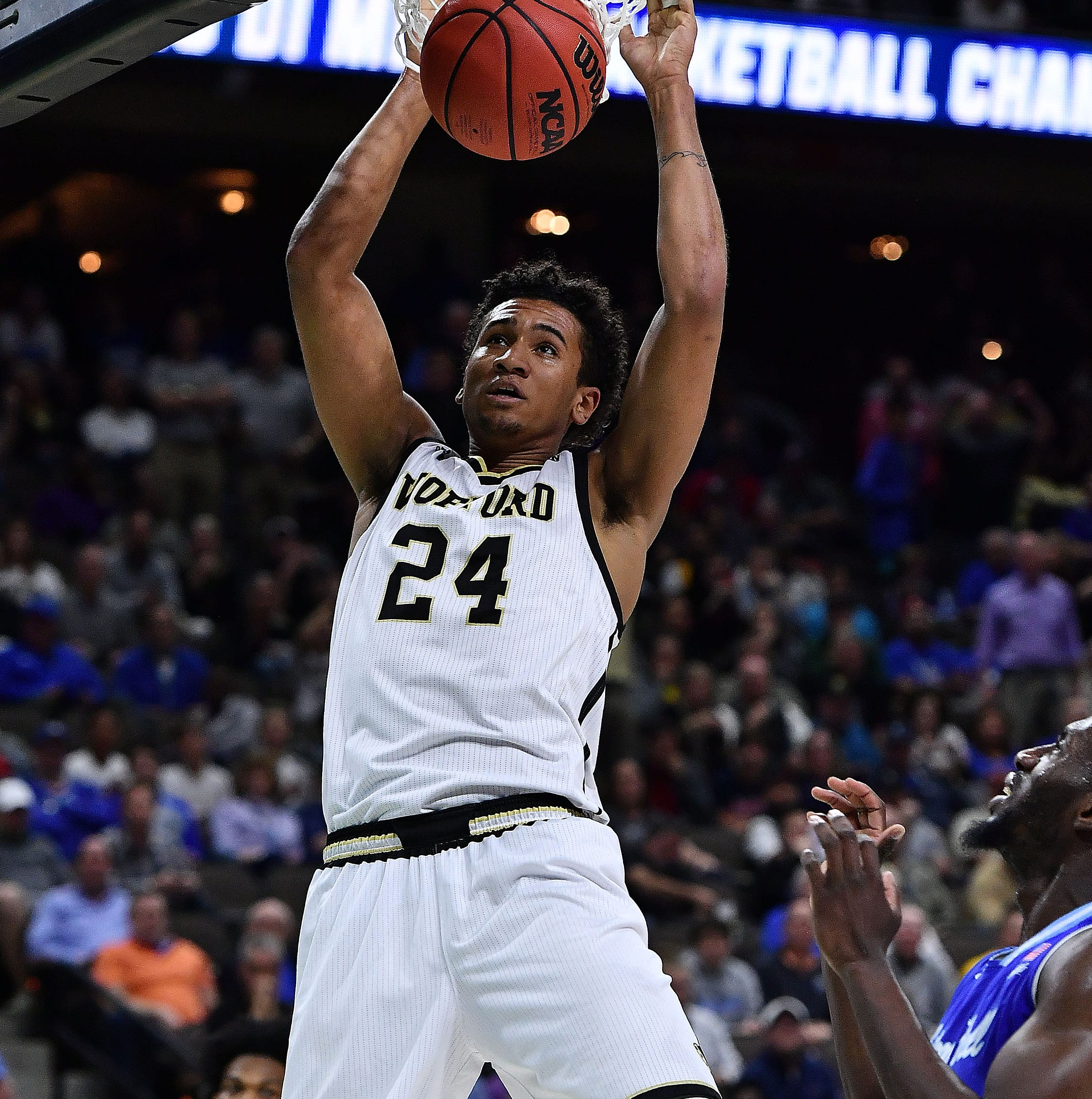 March Madness: Decatur grad Aluma helps Wofford to historic NCAA tournament victory