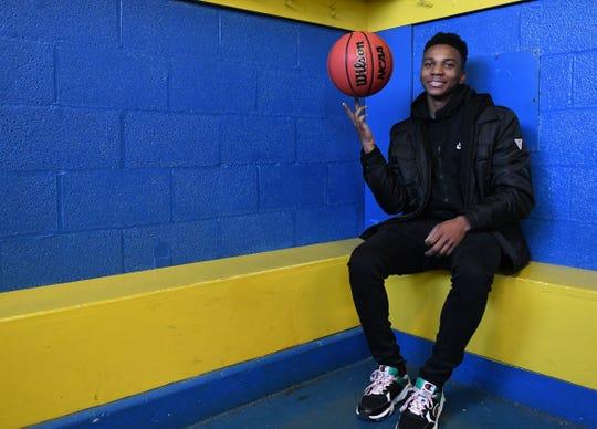 Wicomico High School's Jaden Baker has been voted the Winter MVP for Delmarvanow.com.
