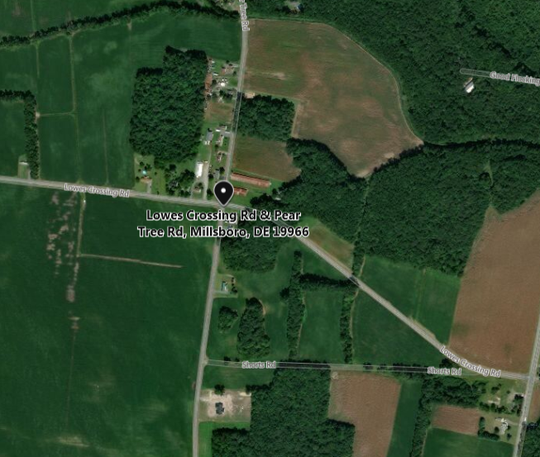 A crash that killed 80-year-old Joann E. Smith of Millsboro happened while Smith was driving east on Lowes Crossing Road, near Pear Tree Road, according to Delaware State Police.