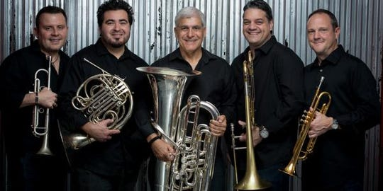 Boston Brass will perform at the Weill Center in April.