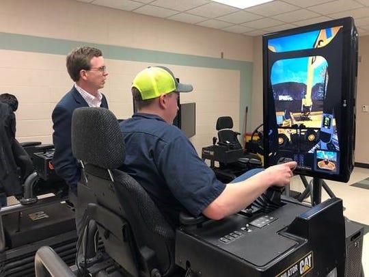 Heavy Equipment Sim Lab.