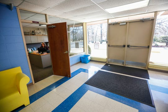 The main office at Logan Elementary School will be moved to create a safe and secure entrance if the April 2 bond and levy issues pass.