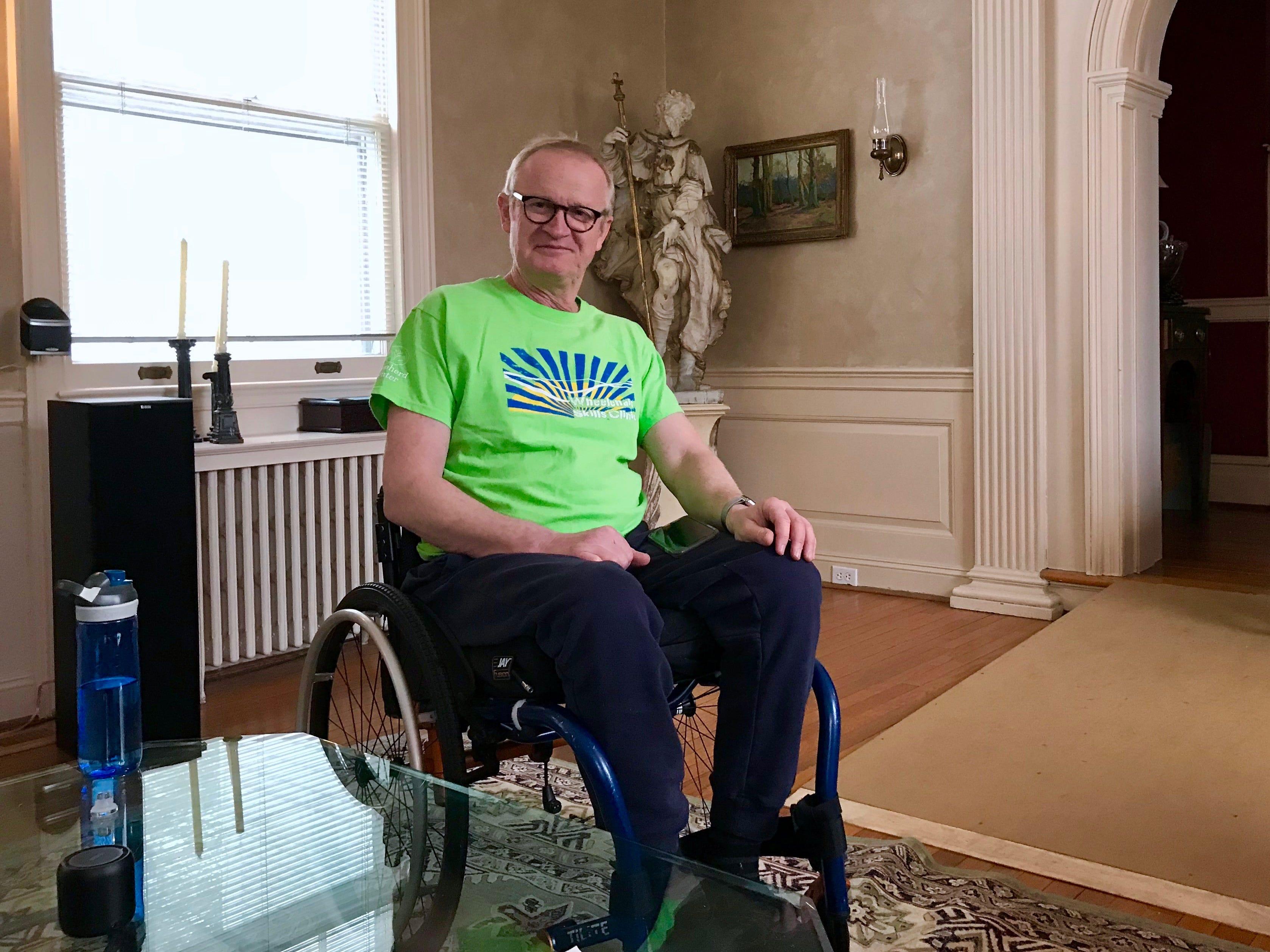 Dr. Robert Kyler in his home in Staunton, Virginia, on Friday, March 8, 2019.