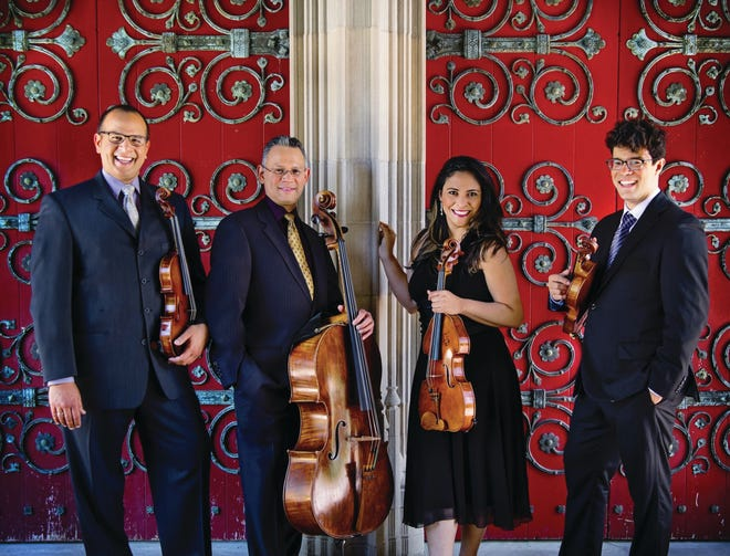 The Dali Quartet will be hosting several events and performances in the last week of March.