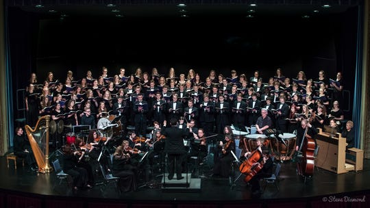 """The Youth Chorale of Central Minnesota is performing its """"Masterworks: Jubilate Deo"""" concertat 7 p.m. April 28 at the Paramount Center for the Arts."""
