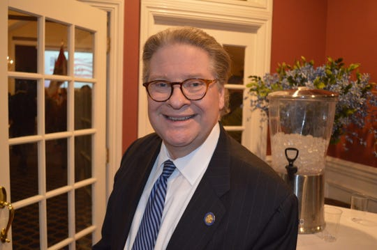 State Sen. Peter Harckham, D-Lewisboro, at Putnam County Golf Club in Mahopac on March 7.