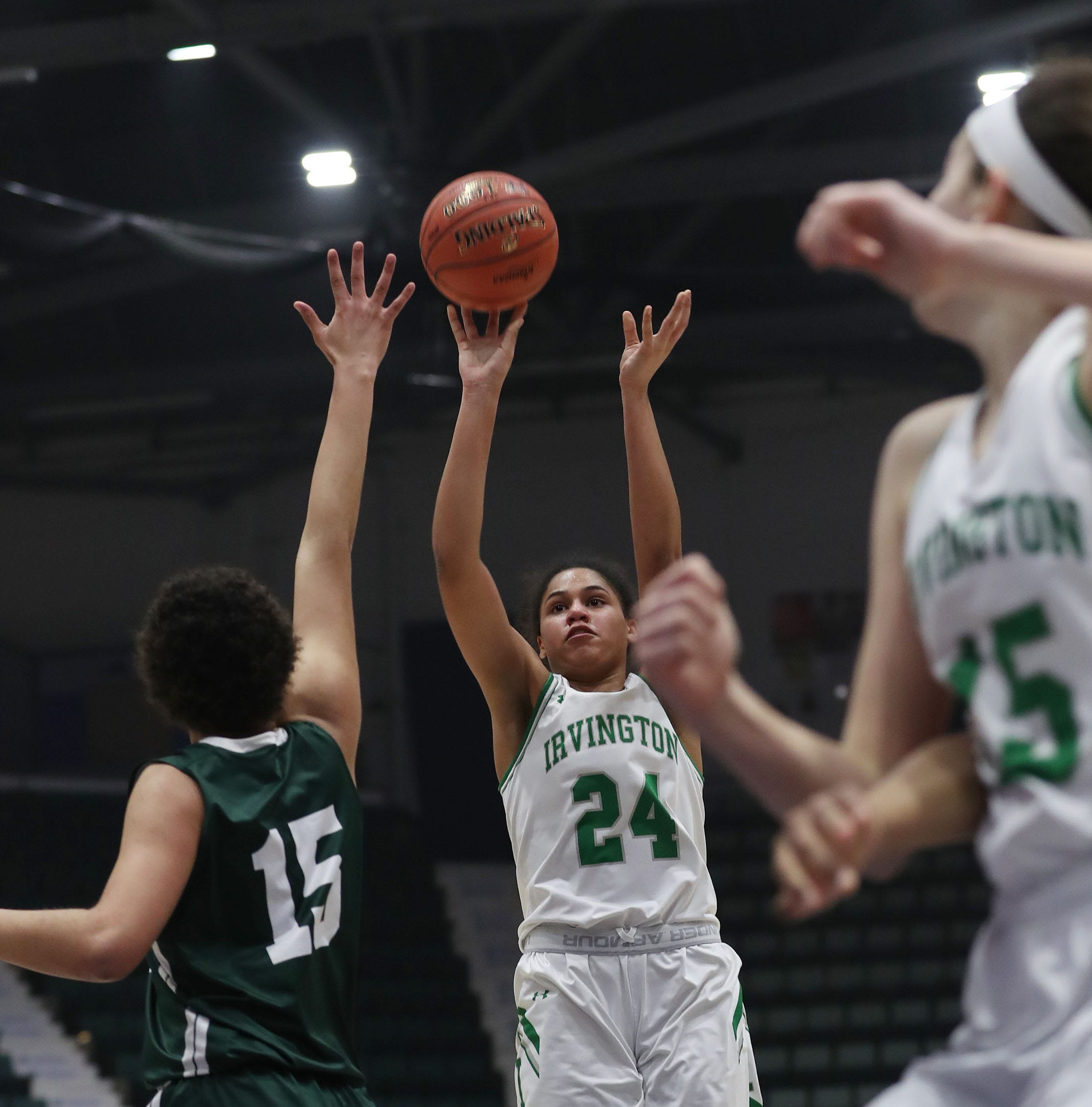 Girls basketball: Irvington wins Federation semifinal behind second-half surge