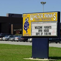 Police stationed at Walter Panas High School amid week of reported threats, rumors