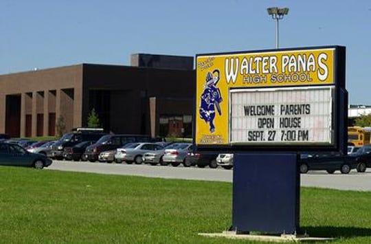 Walter Panas High School.