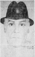 This police sketch of the Gentleman Bandit appeared twice in The News Journal in 1979.