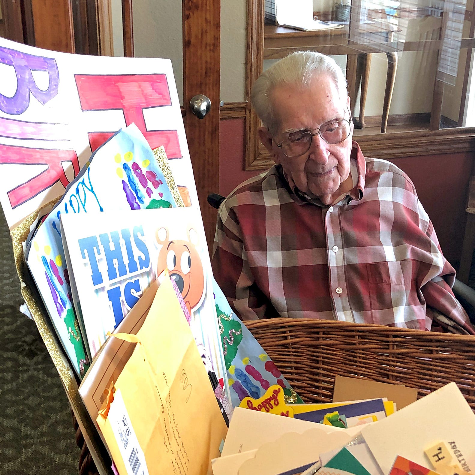 WWII veteran Joe Cuba of Wichita Falls: Viral response on birthday card wish 'was amazing'