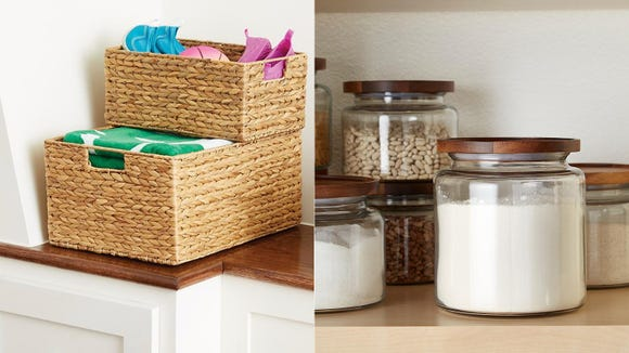 Get 25% off your favorite kitchen and pantry storage solutions now at The Container Store.