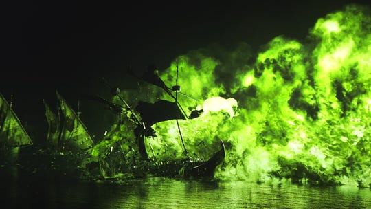 """A scene from the """"Blackwater"""" episode of """"Game of Thrones."""" (Photo: HBO)"""