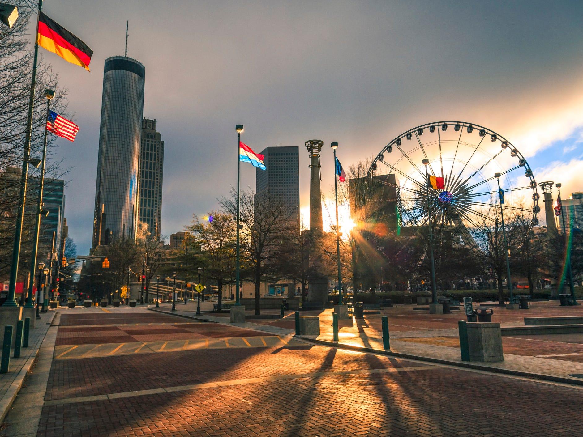 No. 2: Atlanta.