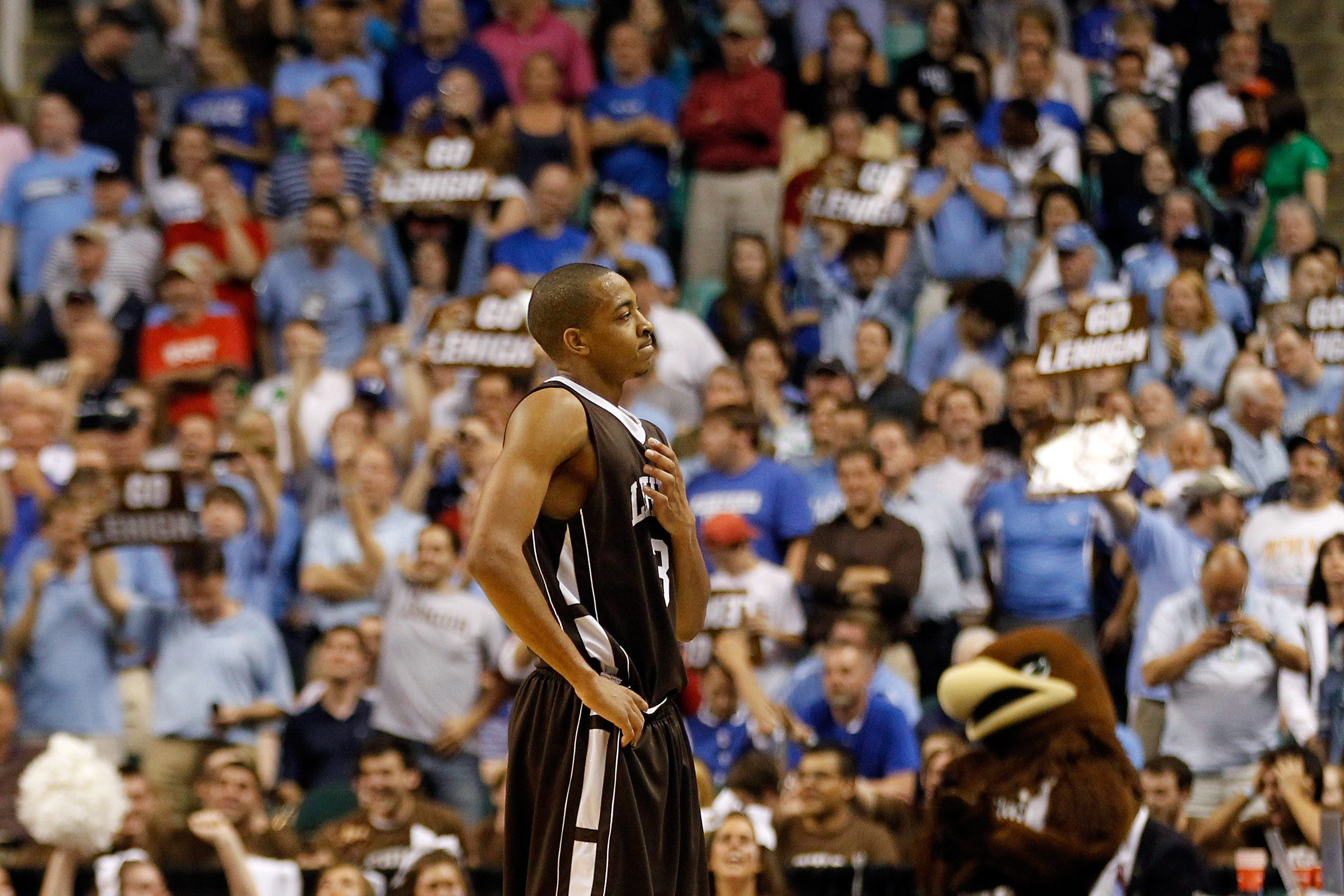 d6c82bb86a4 March Madness  C.J. McCollum reflects on Lehigh upsetting Duke in the 2012  NCAA Tournament