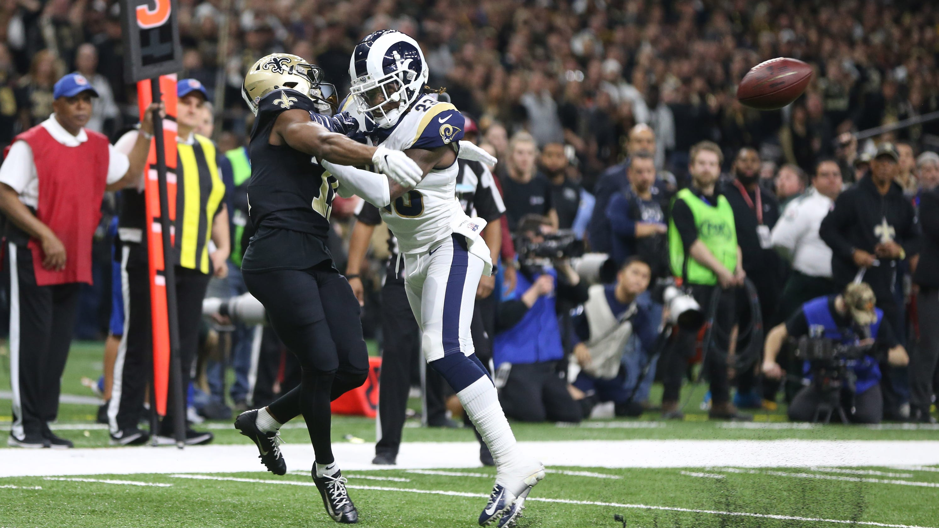 c0fad26713a NFL replay rules  League to consider adding pass interference review
