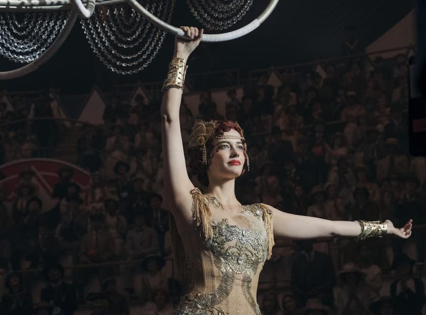 'Absolutely petrified' Eva Green overcame her fear of heights to fly on 'Dumbo' trapeze