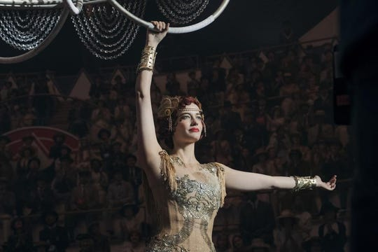 """Eva Green really did trapeze work in """"Dumbo"""" despite a paralyzing fear of heights."""