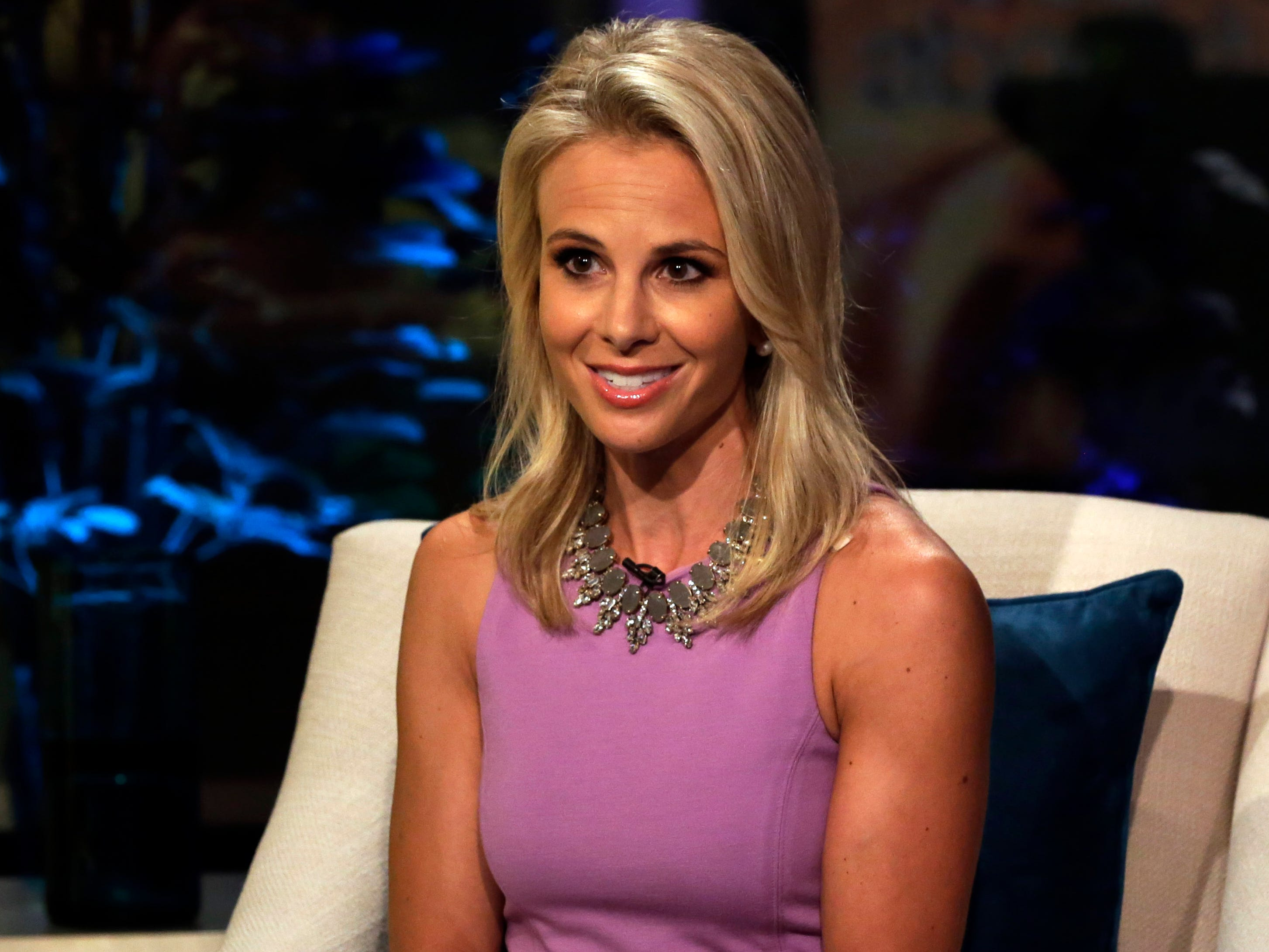 "Elisabeth Hasselbeck, making her debut on ""Fox & friends"" in 2013."