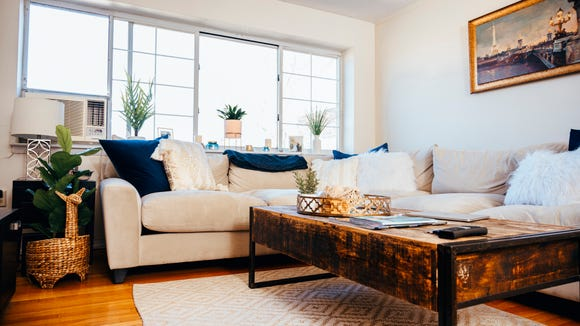 Reviewed Editor Sam Matt's Living Room
