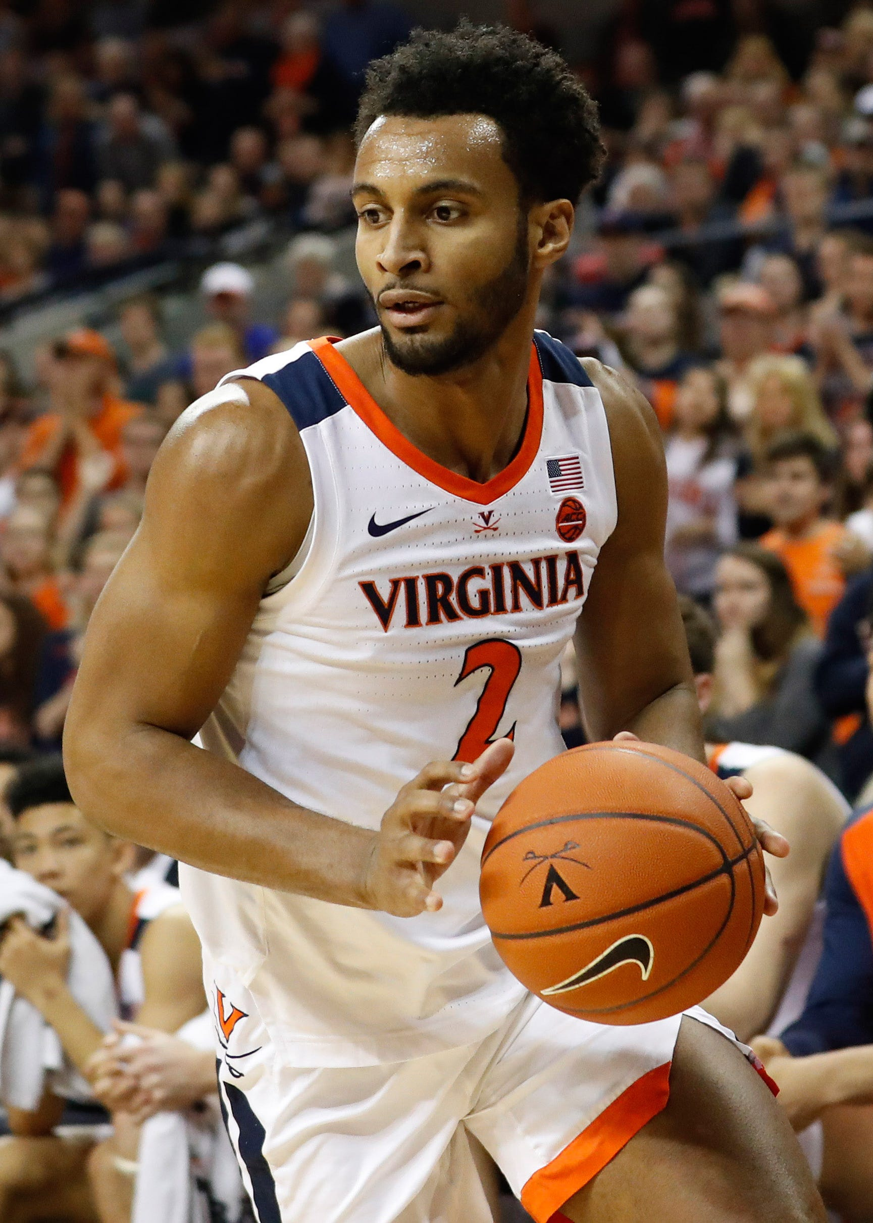 Braxton Key and the Cavaliers will look to avoid the embarrassment experienced in last year's tournament.