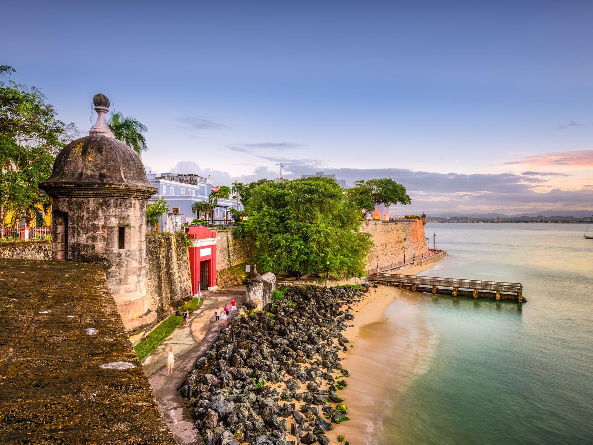 No. 13: Puerto Rico.
