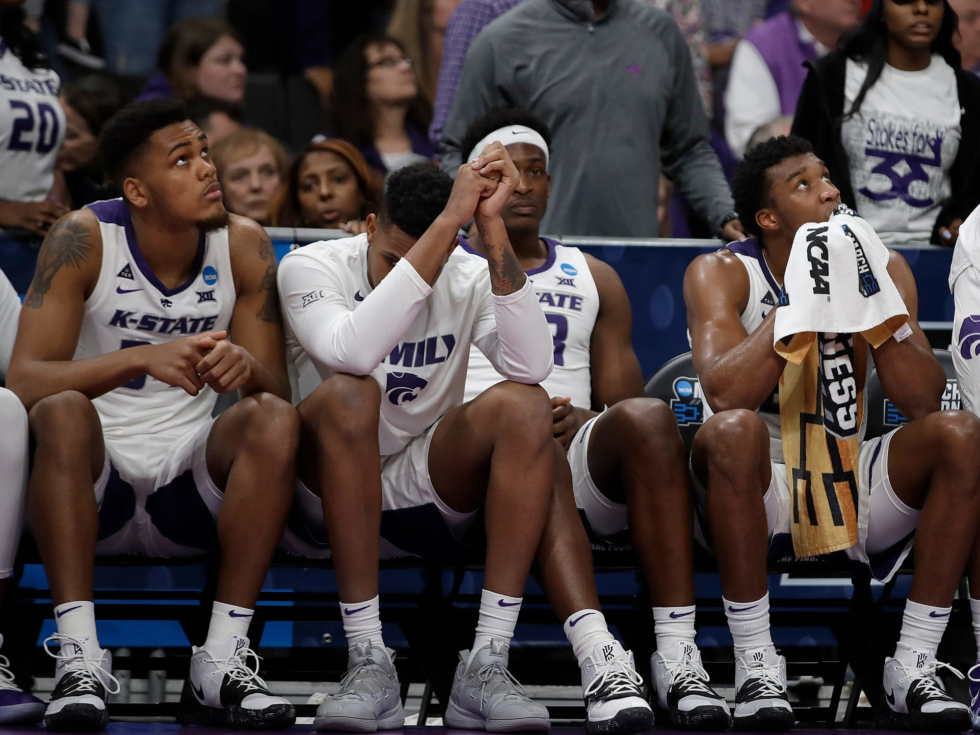 First round: No. 4 Kansas State loses to No. 13 UC Irvine, 70-64.