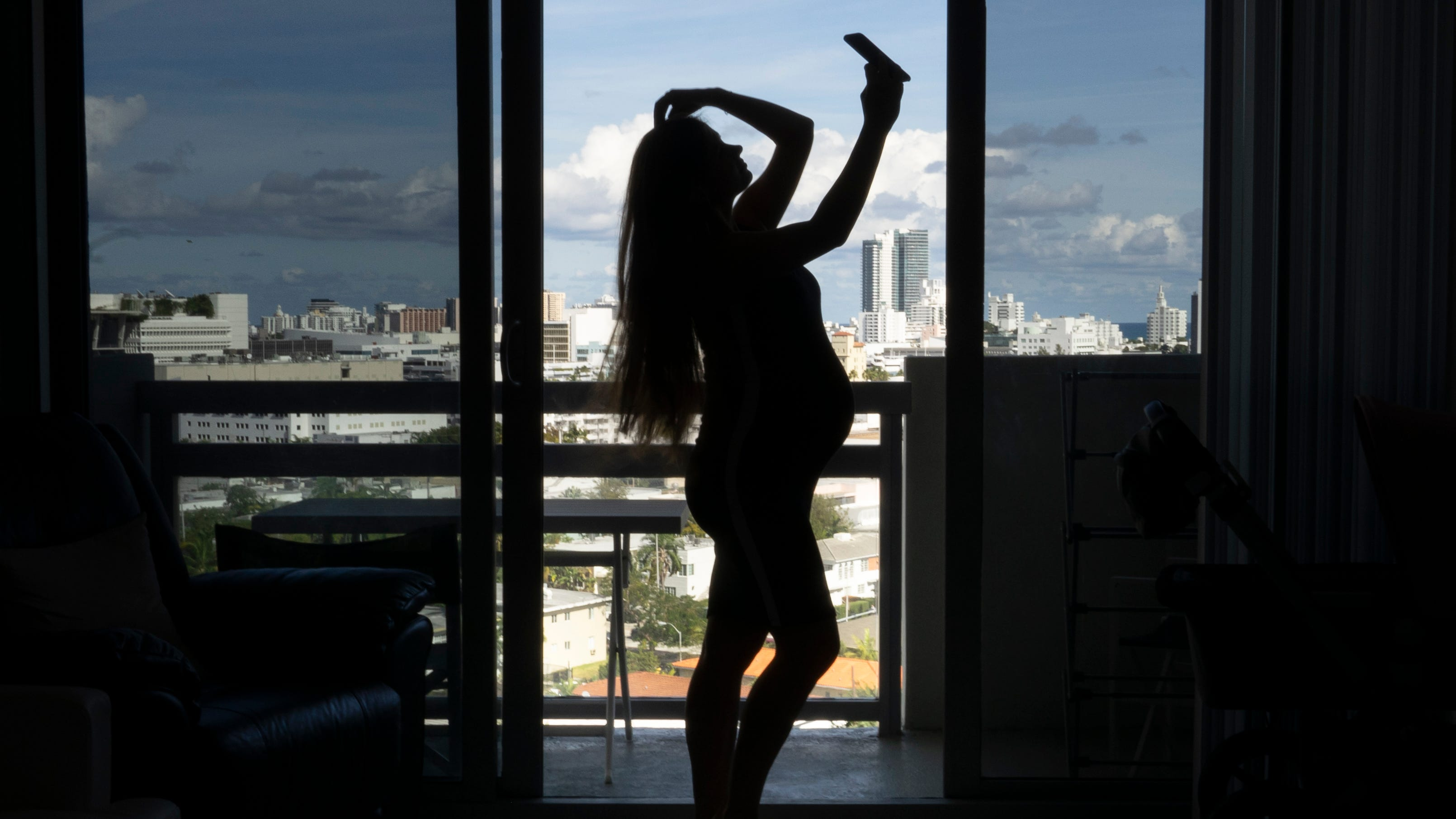 Svetlana Mokerova, 25, and her husband went all out, renting an apartment with a sweeping view. She relished the tropical vibe, filling her Instagram account with selfies backed by palm trees and ocean vistas.