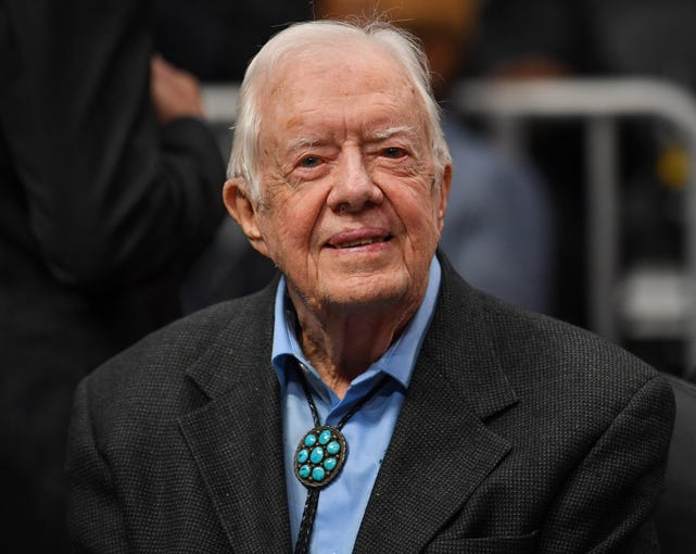 Jimmy Carter to pass George H.W. Bush as oldest living ...