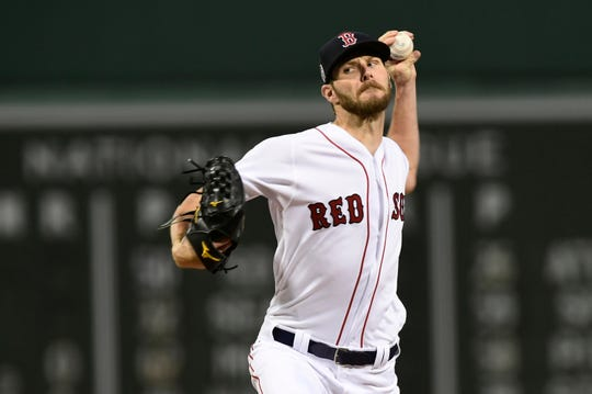 Chris Sale went 12-4 with a 2.11 ERA and 237 strikeouts in 158 innings.