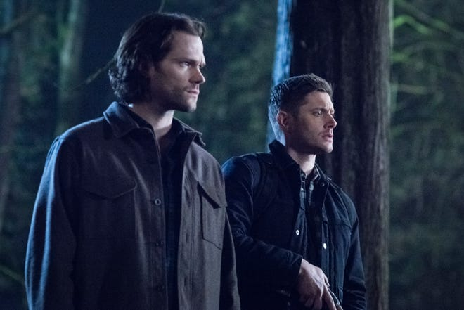 Sam Winchester (Jared Padalecki), left, and his brother, Dean (Jensen Ackles), are the central characters in CW's long-running 'Supernatural,' which will end next year after its 15th season.