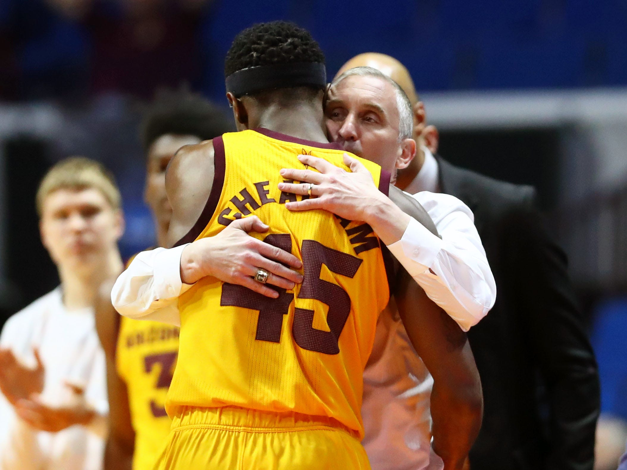 First round: No. 11 Arizona State loses to No. 6 Buffalo, 91-74.