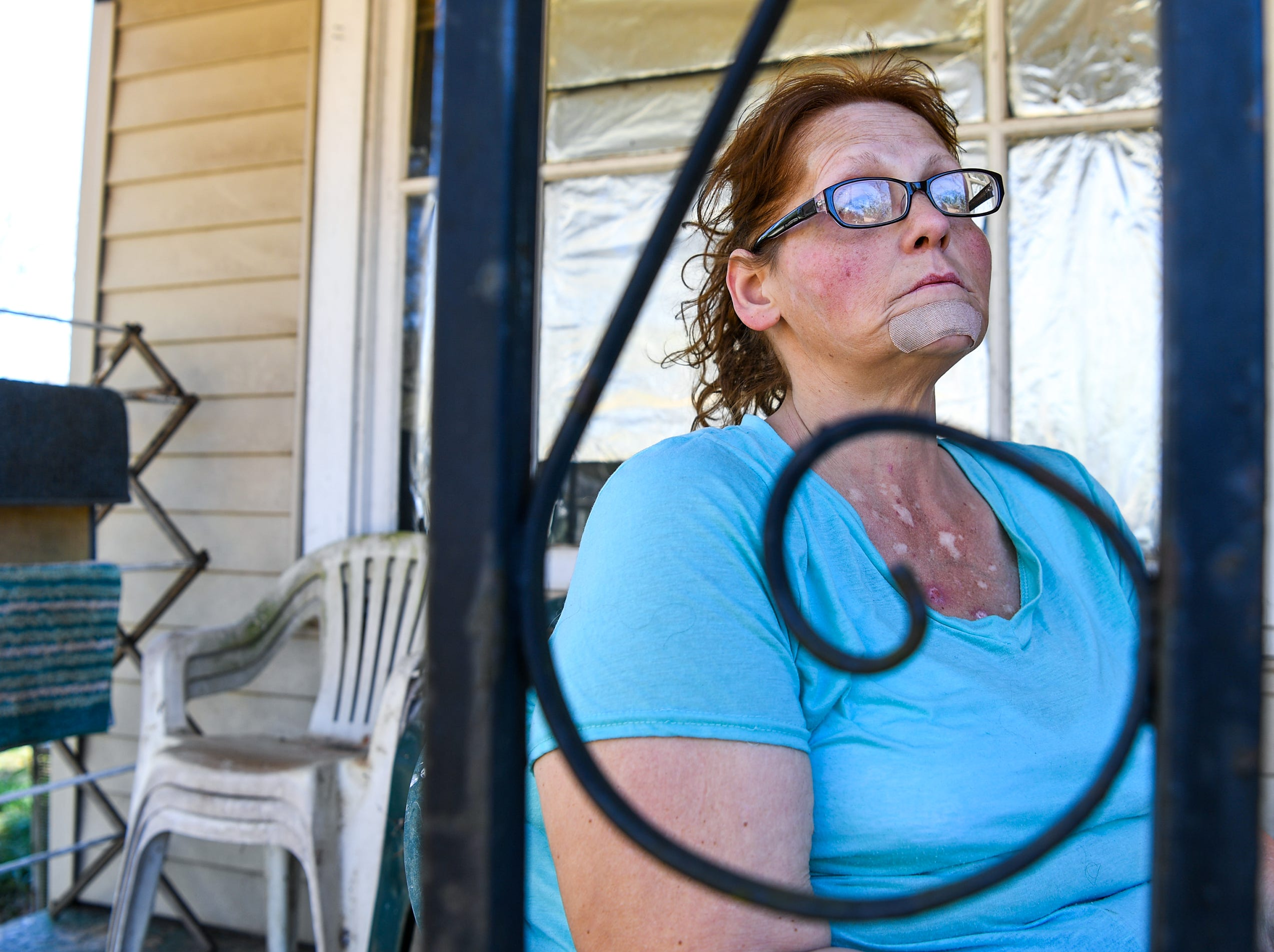 Kristy Drees of Anderson didn't expect her water bill in Homeland Park to exceed the typical monthly bill around $40 to $50. The problems with the water company and courtroom battles with her landlord while being unemployed she says is stressful.