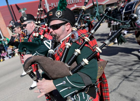 The New Dublin St. Patrick's Day Grand Parade in 2019 in New London. Wm. Glasheen/USA TODAY NETWORK-Wisconsin