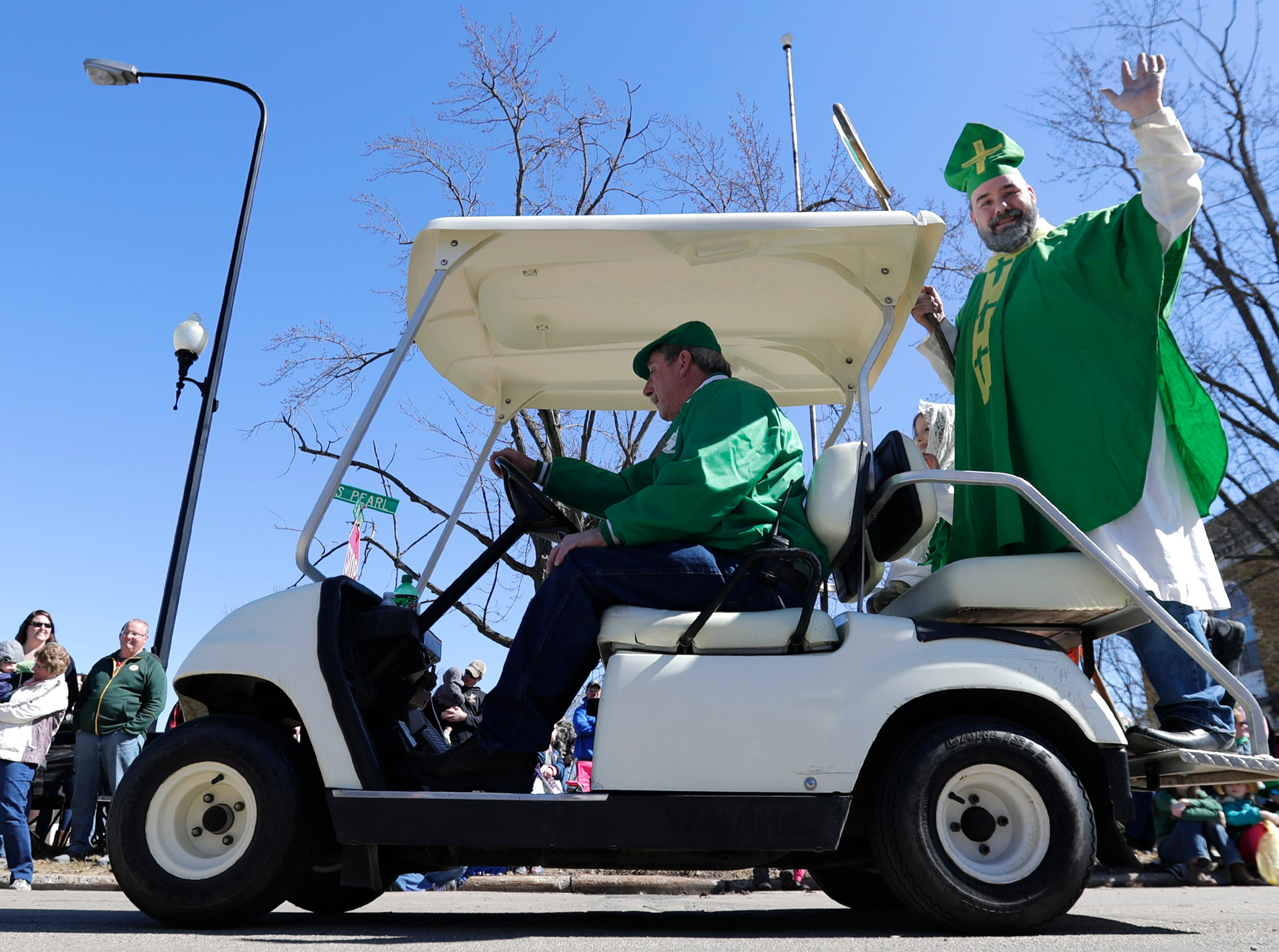 The New Dublin St. Patrick's Day Grand Parade on Saturday, March 23, 2019, in New London, Wis.Wm. Glasheen/USA TODAY NETWORK-Wisconsin.