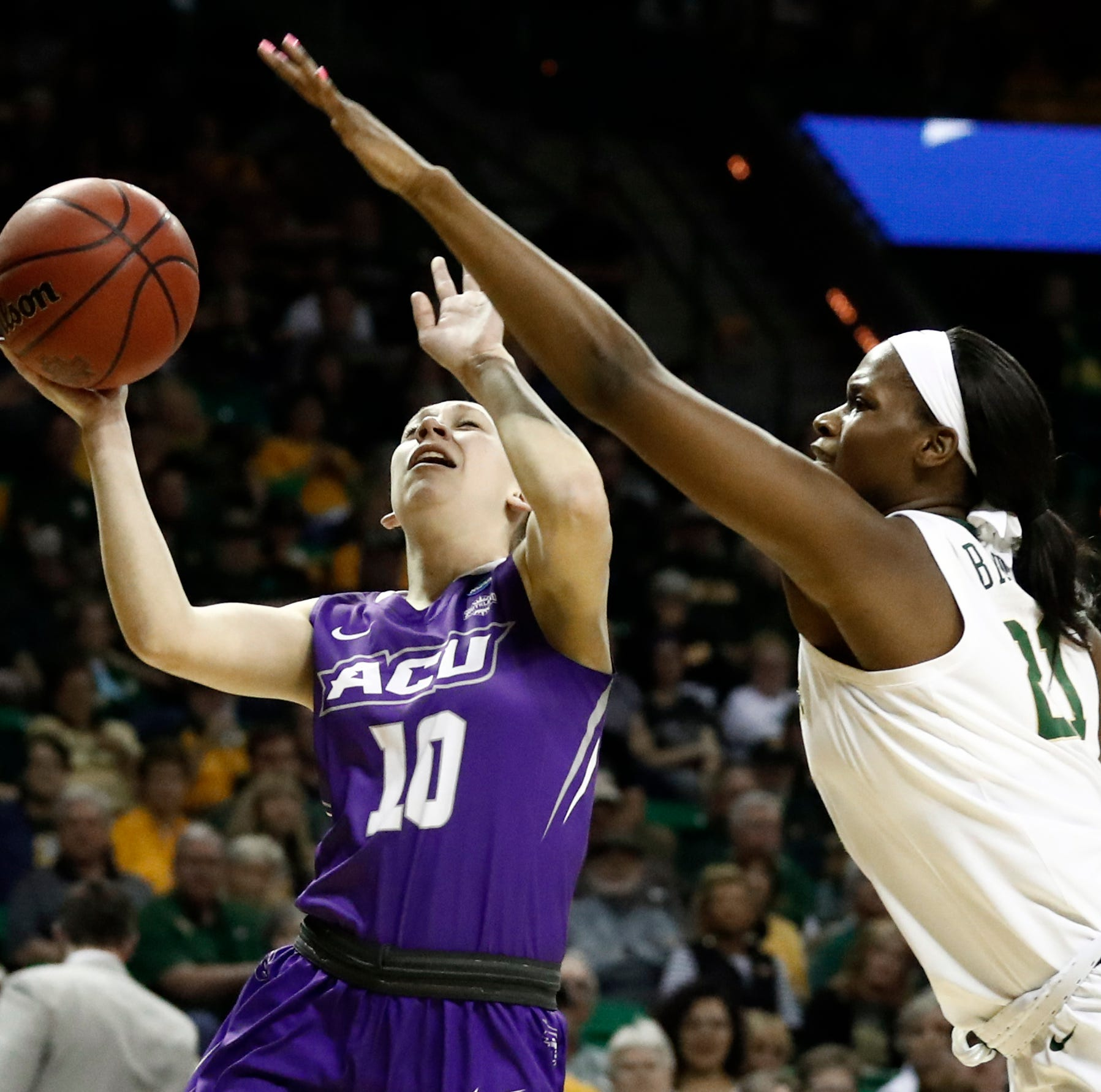 Top-ranked Baylor throttles Abilene Christian to open women's NCAA Tournament