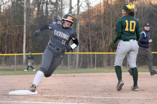 Reynolds took on North Buncombe at Reynolds High School on March 22, 2019. North Buncombe defeated Reynolds 15-0.