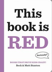 """This Book is Red,"" by Beck and Matt Stanton."
