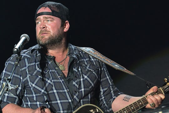 Country star Lee Brice