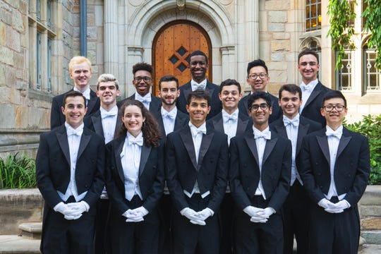 Founded in 1909, the Yale Whiffenpoofs are the world's oldest and best-known collegiate a cappella group. This year's lineup of seniors includes tenor Sofia Campoamor, the first female member of the Whiffenpoofs. For their 110th. anniversary tour, the Whiffs will be in Cocoa Beach for two concerts sponsored by the Space Coast Symphony Orchestra.