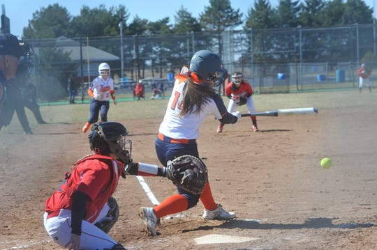 Kate Schieber had a .600-plus batting average for the majority of last season before it eventually settled at .591.