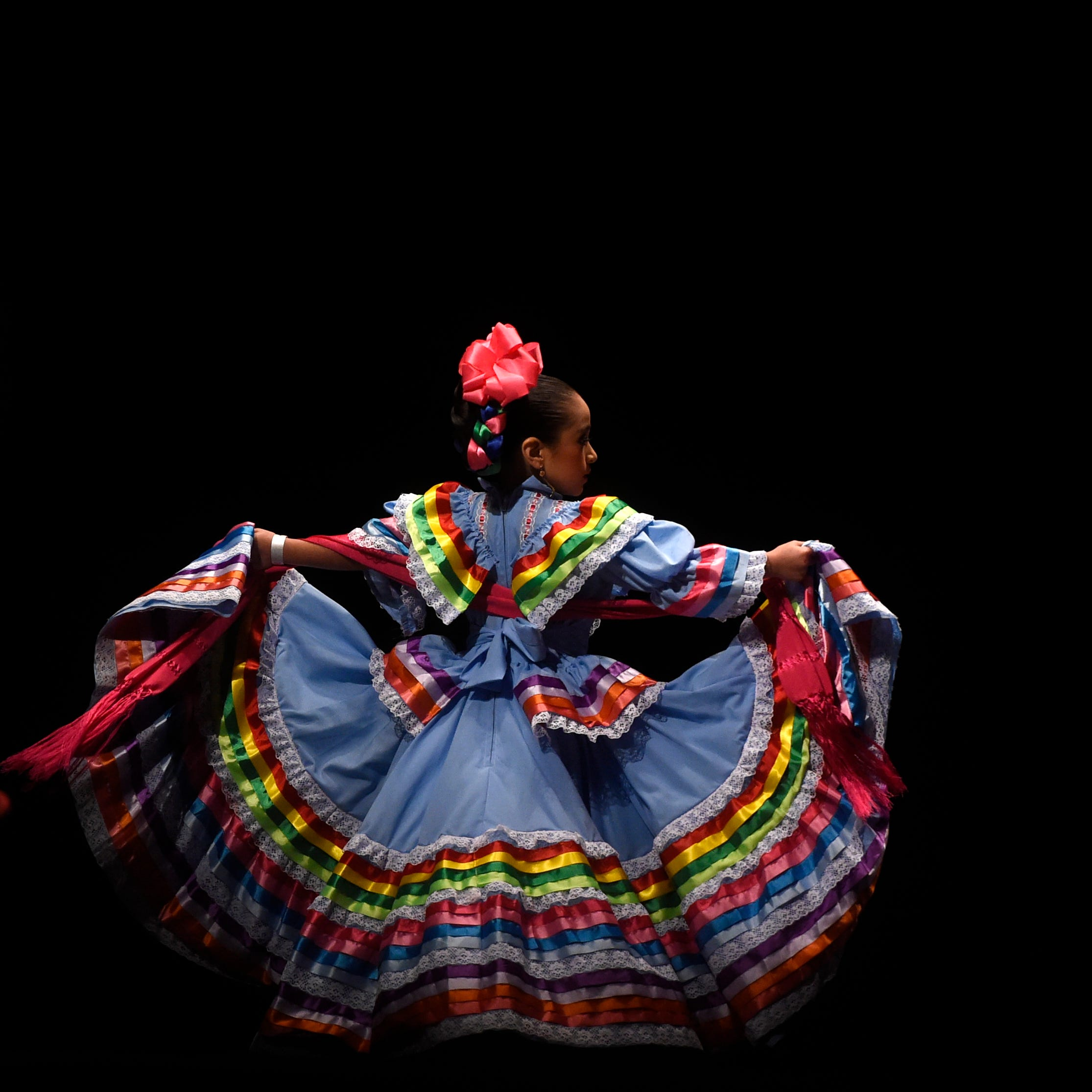 Corpus Christi welcomes colorful folklorico dancers at annual competition