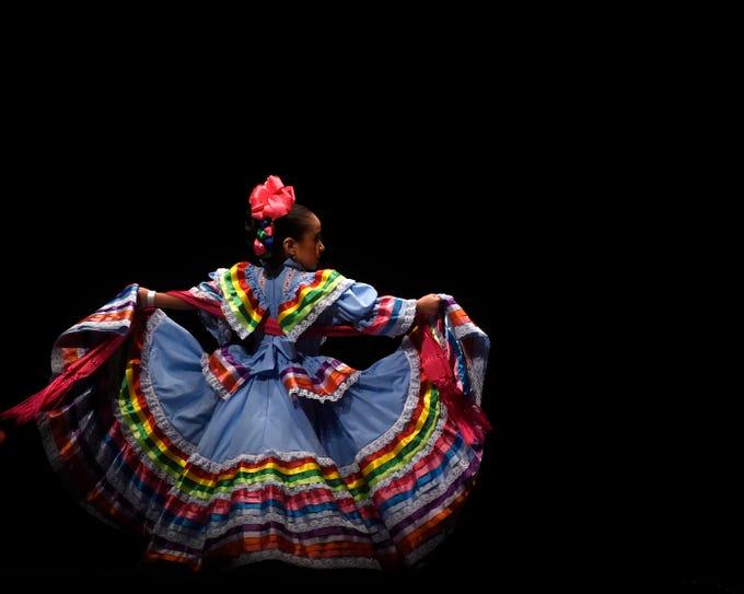Alcorta's Compania de danza hosted their 7th annual Competencia Folklorica de Tejas at the Selena Auditorium, Saturday, March 23, 2019.